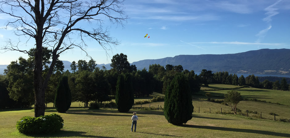 flying an electric rc model