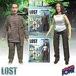 Lost Ben Linus and Kate Austen 8-Inch Action Figures