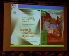 IFLA 2006 Closing Ceremony (Best Newsletter 2006)