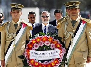 Patriota se engaja em campanha por status de palestinos na ONU