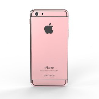 Lux 24k Rose Gold Black iPhone 6 by BRIKK