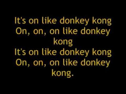 Blood On The Dance Floor Donkey Kong Lyrics