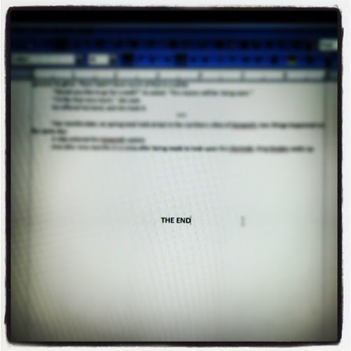 "DONE!!! The 1st draft of ""Princesses In Space II: Spacenado"" (not the actual title) is finished! #AmWriting"