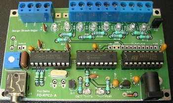 Bộ điều khiển bộ lặp DTMF PIC 16F84A (Remote)