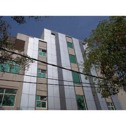 Acp Elevation Front Glass Elevations Service Provider From Delhi