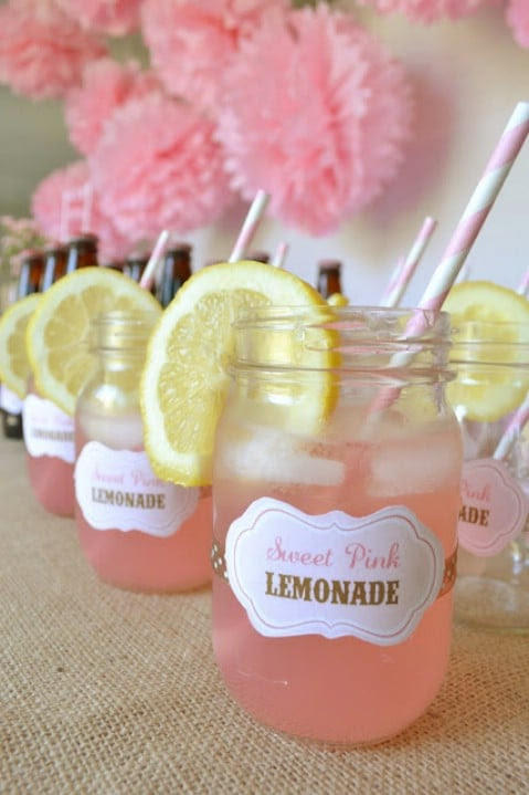 Serve DIY Mason Jar Lemonade and Amaze Your Friends - 35 Summery DIY Projects And Activities For The Best Summer Ever
