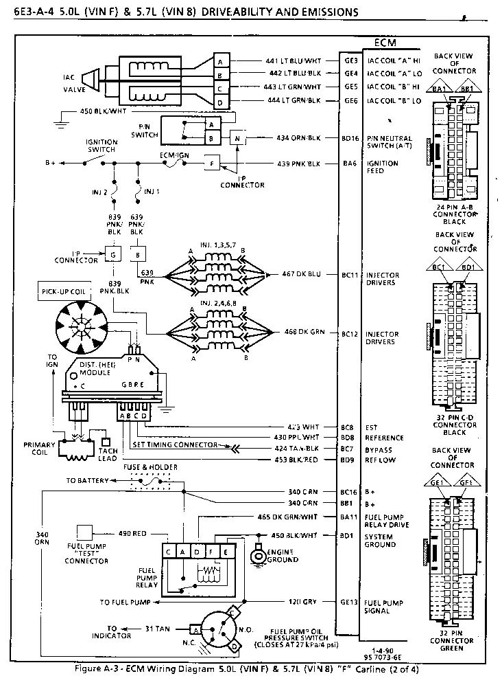 1995 lt1 wiring harness diagram schematic image 6