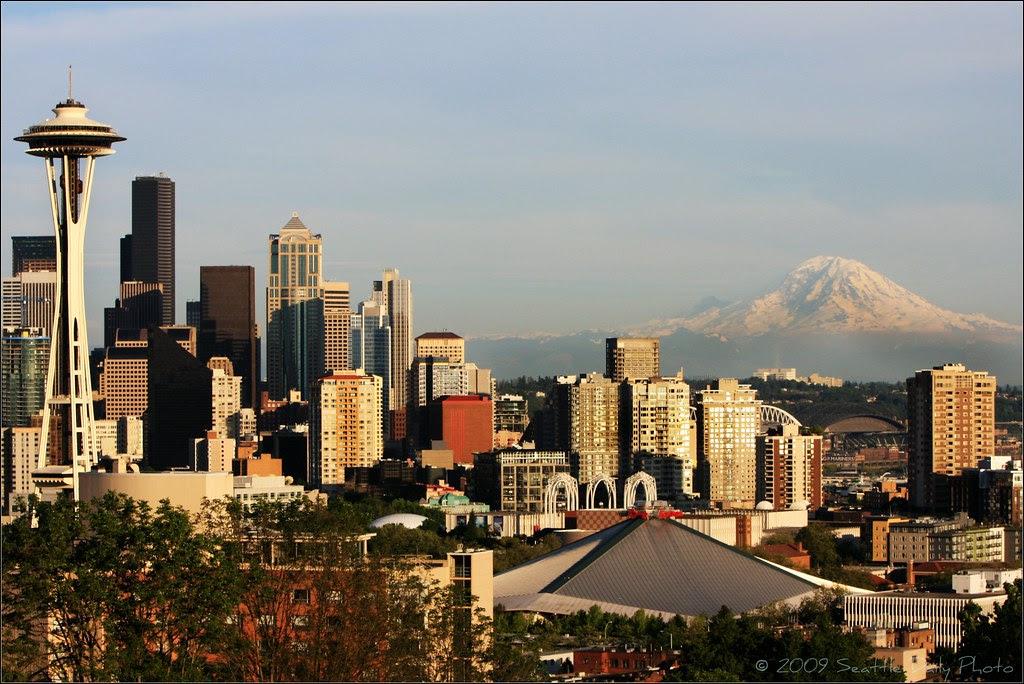 2009 Seattle Skyline