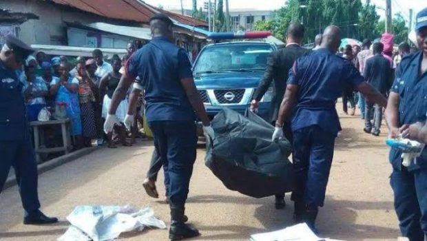 Magun' (Thunderbolt) Strikes Robber Dead Minutes After Raping Robbery Victim