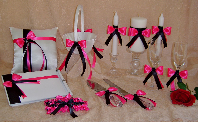 Direct Gardening Supplies Black And Pink Wedding Decorations