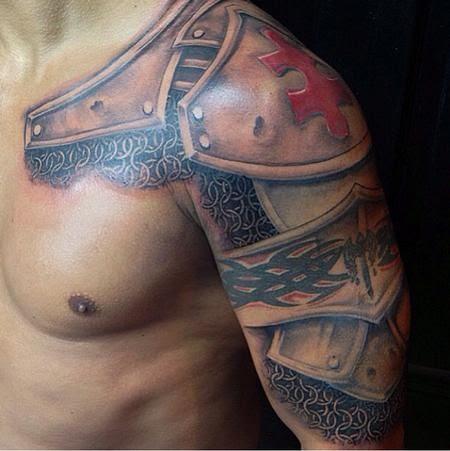 Shoulder Tattoos For Men Designs On Shoulder For Guys