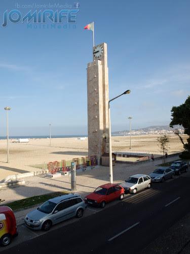 Torre relógio praia da Claridade Figueira da Foz