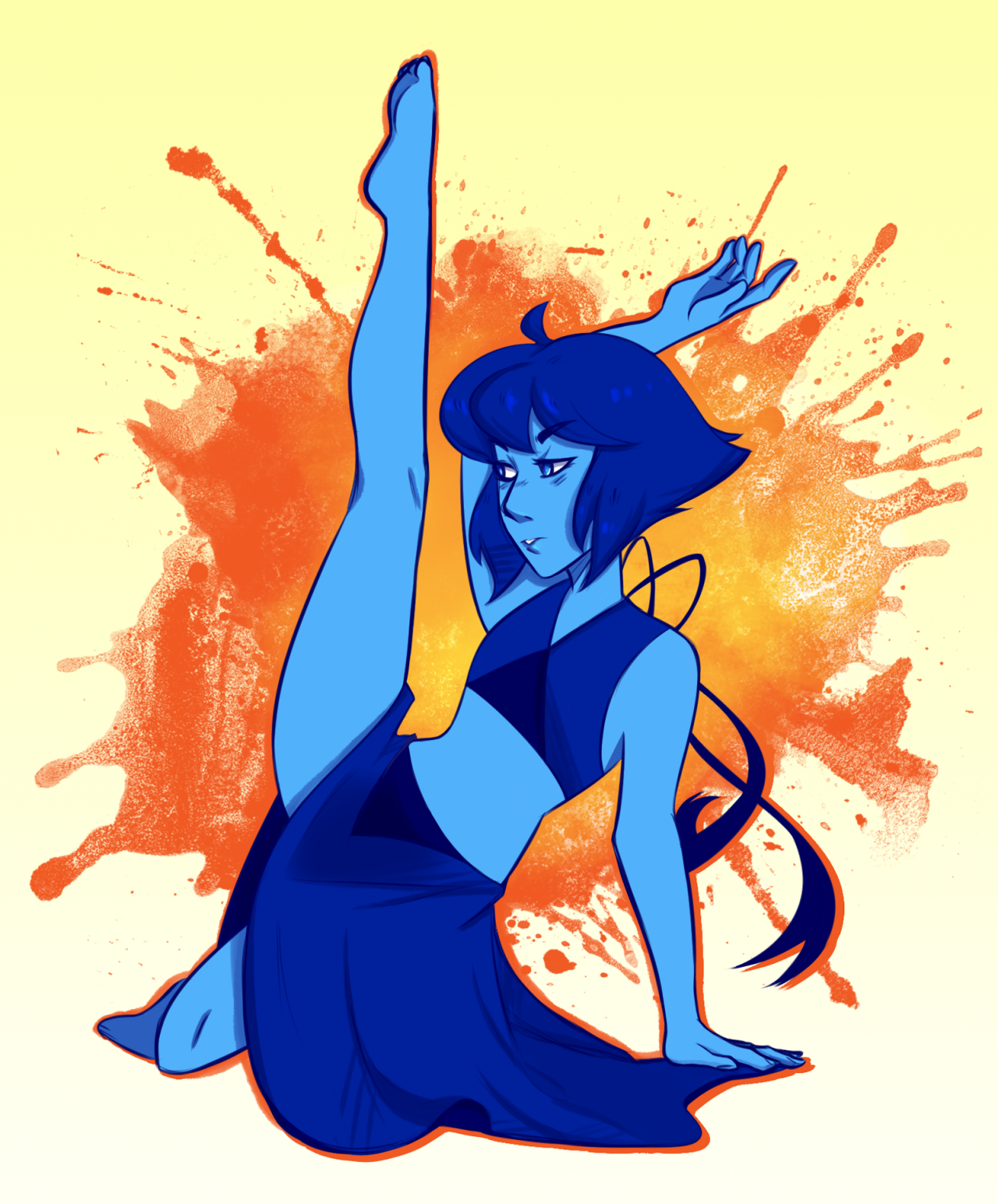 I wanna see Lapis dance again.