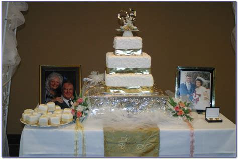 Decorating Ideas For 50th Wedding Anniversary Party   Elitflat