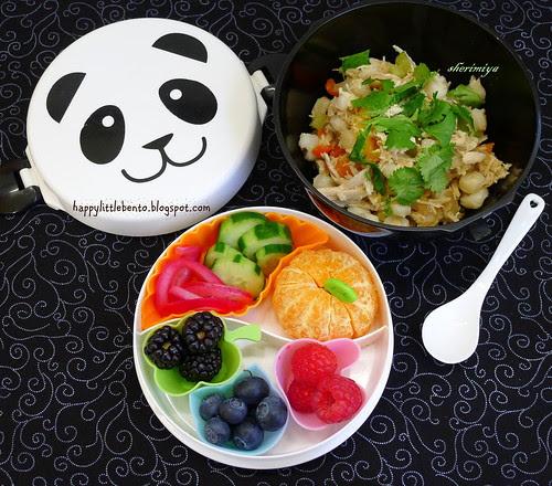 Chicken Hominy Bowl Bento by sherimiya ♥