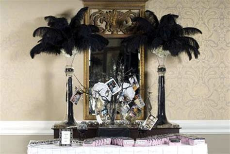 bride.ca   Décor Idea: Ostrich Feather Centerpieces?