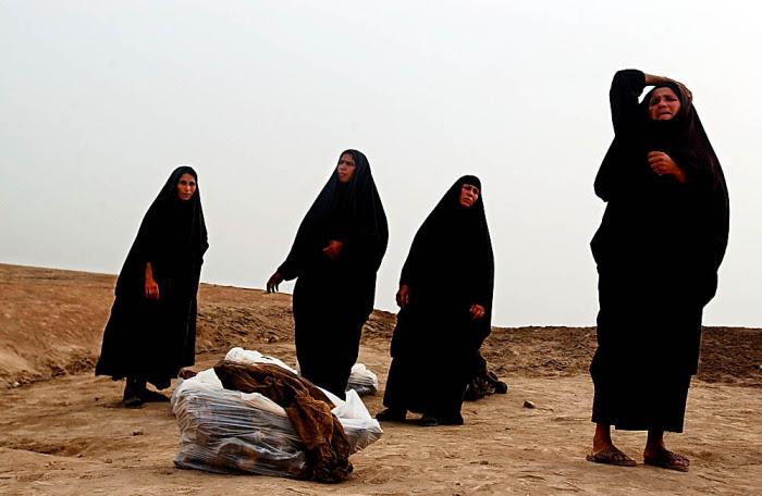 Iraqi women.