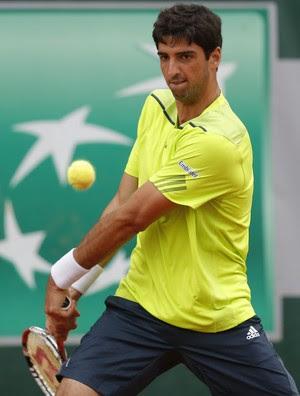 Thomaz Bellucci x Becker Roland Garros (Foto: EFE)