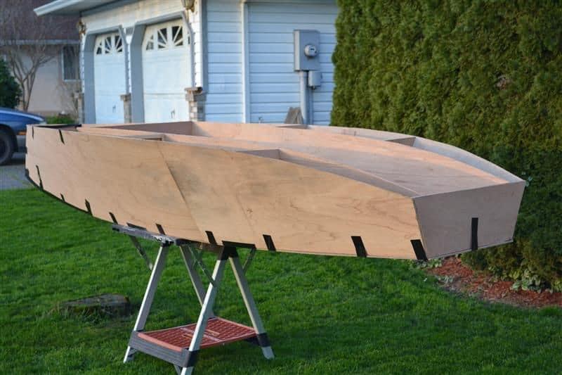 skiff free boat plans plywood boat rowing boat gavin atkin