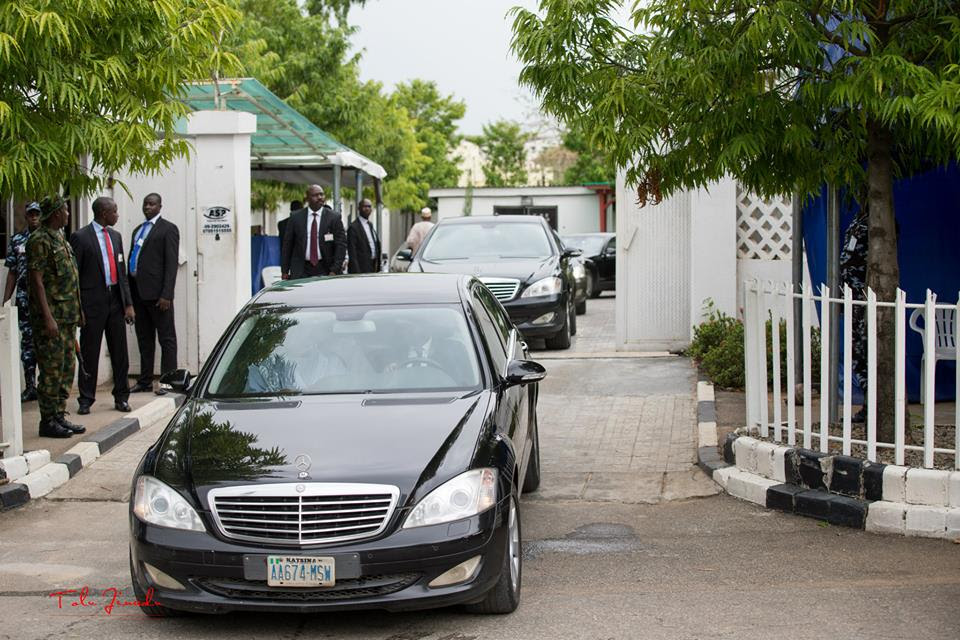 Image result for buhari convoy