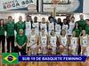 Seleção sub 19 feminina, com Tarallo e mais 4 atletas do Divino estreia no Mundial