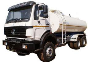 china beiben fuel truck supplier
