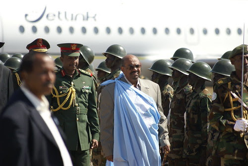 Bashir arrives