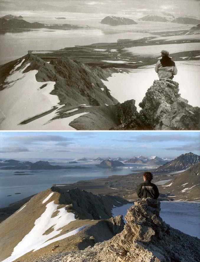 Η κλιματική αλλαγή μέσα από σοκαριστικές φωτογραφίες των παγετώνων της Αρκτικής (4)