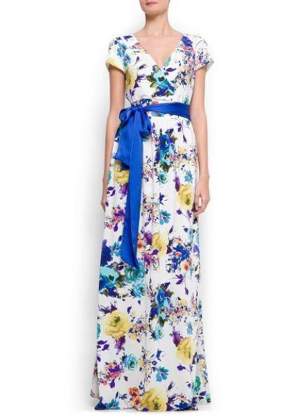 Invitation Dresses by MANGO 2013 [PHOTOS] / Fashion Faz (fashion,dress,beauty,woman)