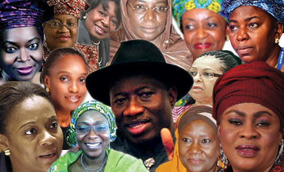 Nigerian women political officials. The current administrations has been noted for its appointment of women cabinet ministers and other officials. by Pan-African News Wire File Photos