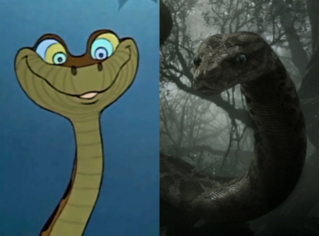 The Jungle Book, Animated Disney vs. Live Action Disney