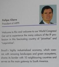 Material distribuído no Congresso AIPPT