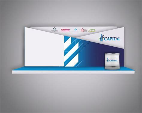Capital stage design for annual conference event ..   3D