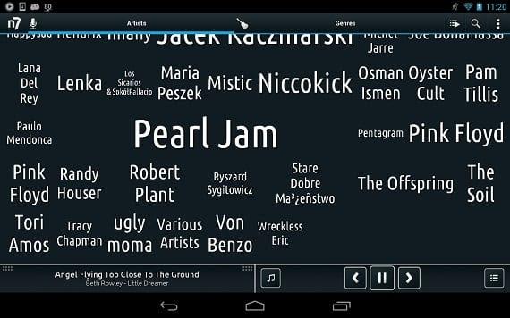 N7 7 7 Los mejores reproductores de música para Android