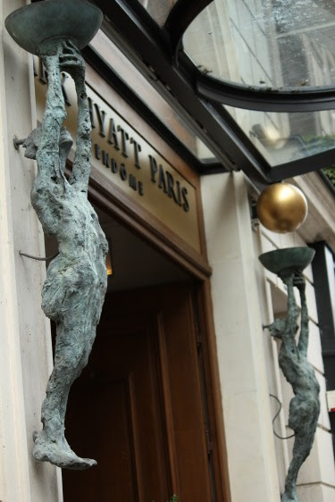Entrance of Park Hyatt Vendome - Paris