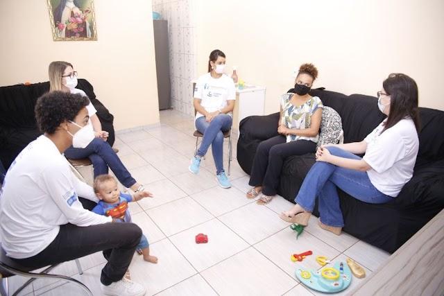 Criança Feliz Brasiliense retoma as visitas domiciliares