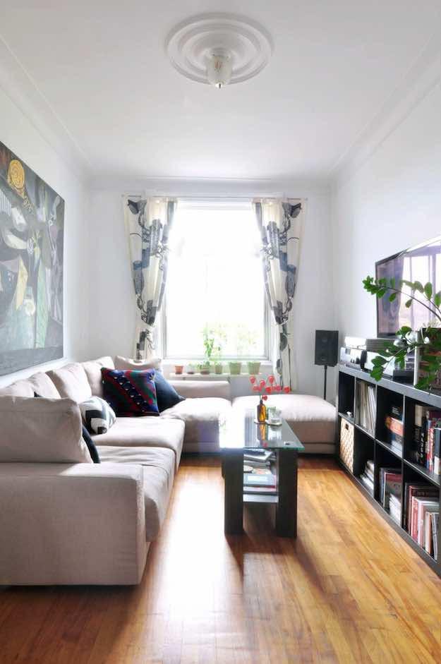 Living room design long narrow | Hawk Haven