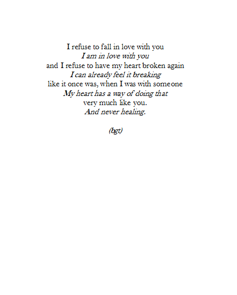 Falling In Love Poems Tumblr Free Love Quotes