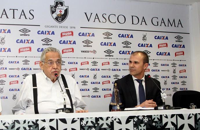milton mendes vasco (Foto: Paulo Fernandes / Vasco)