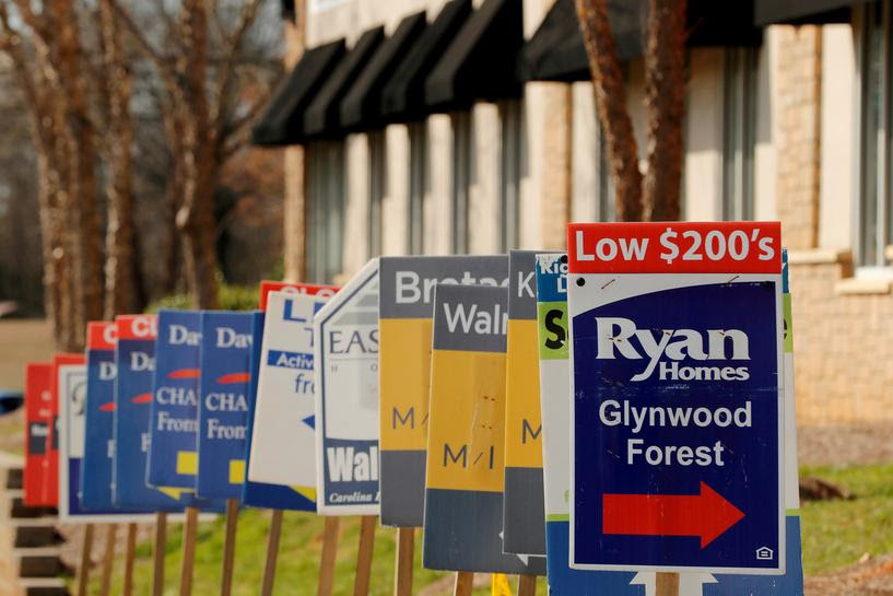 U.S. housing market floats back to earth
