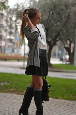 OFFICE LOOK: Skirt