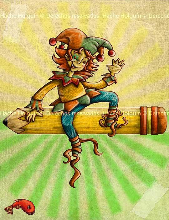 Ilustracion matacho matachin