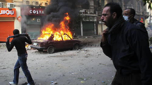 Egypt's civilian government that was appointed by the Supreme Military Council has resigned according to news reports. Dozens have been killed inside the country since November 18, 2011. by Pan-African News Wire File Photos
