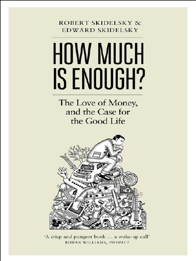 How much is enough book cover