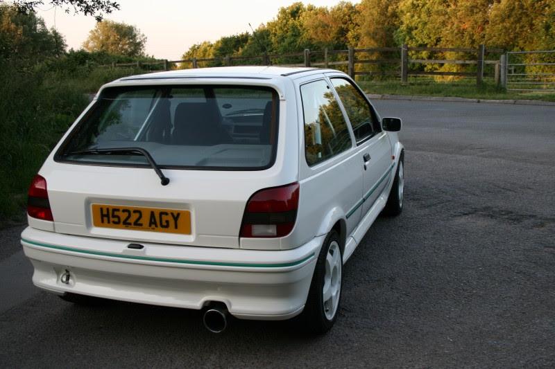 Car: 1991 Ford Fiesta RS Turbo