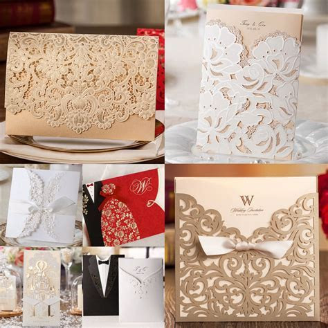 Collection of Wishmade's Best Selling Wedding Invitations