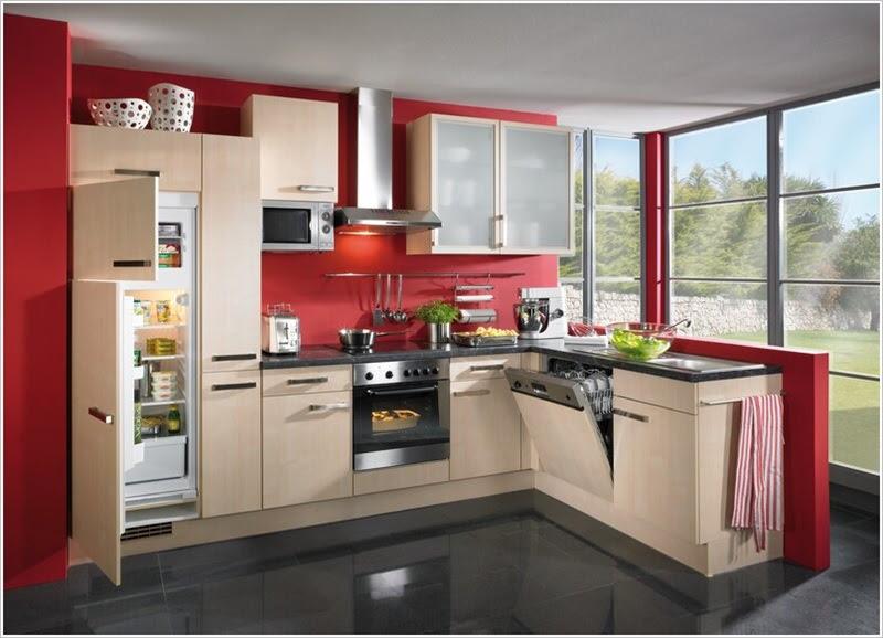 Beauteous European  Style  Kitchen  Designs