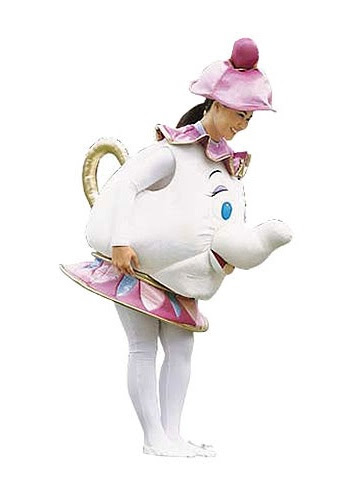 Adult Mrs Potts Costume Beauty And The Beast Costumes