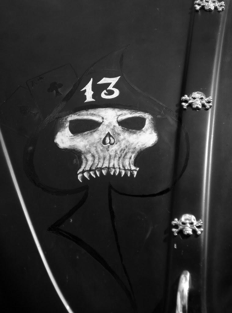 Lucky-13 Spade Skull