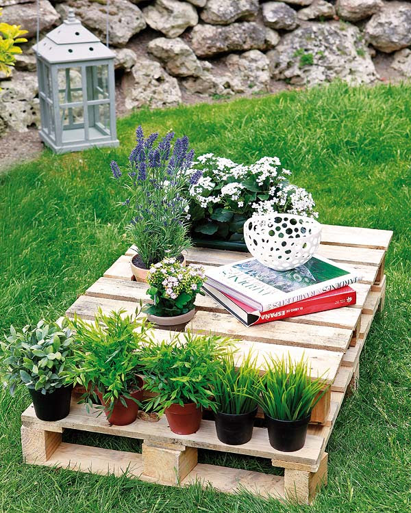 DIY wood pallet furniture ideas - 4 easy projects for home and garden